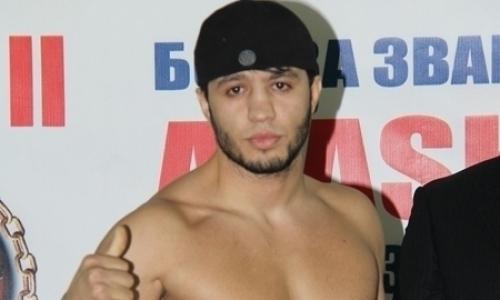 «Дима, я у тебя в городе». Казахстанский боец прилетел в Москву и обратился к чемпиону AMC Fight Night