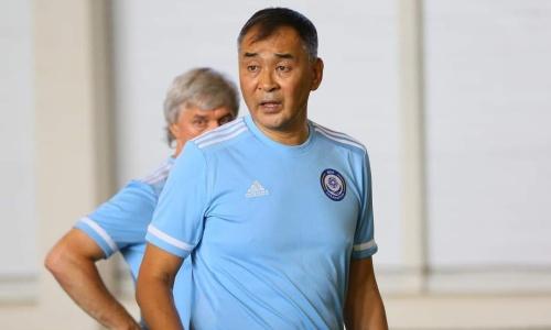 Сборная Казахстана лишилась главного тренера перед сентябрьскими матчами отбора ЧМ-2022