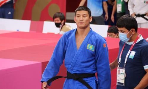 Казахстанский дзюдоист провел схватку за «бронзу» на Паралимпиаде в Токио