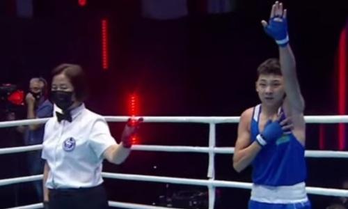 Казахстан выиграл первое «золото» на юношеском чемпионате Азии по боксу