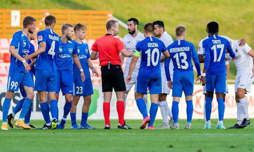 Европейский клуб казахстанца проиграл шестой матч подряд собщей разницей мячей 0-16. Команда на«дне» таблицы