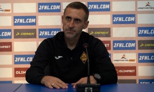 «Отсюда такой результат». Наставник «Кайрат-Москва» нашел объяснение поражению в матче с «Динамо»