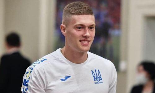 Украина потеряла нападающего перед матчем со сборной Казахстана в отборе к ЧМ-2022