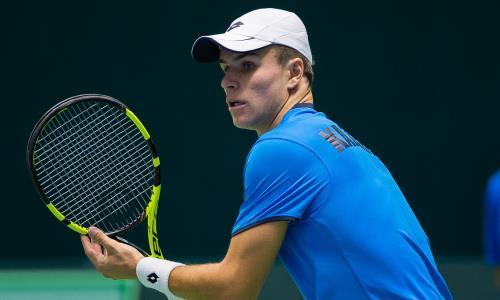 Казахстанский теннисист потерял 11 строк в рейтинге ATP