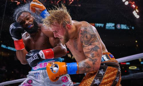 Видео полного боя Джейк Пол — Тайрон Вудли с поражением экс-чемпиона UFC