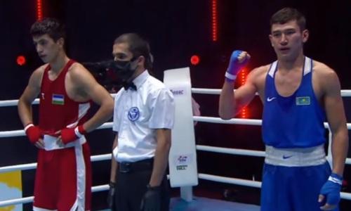 Казахстан впервые победил Узбекистан в финале МЧА-2021 по боксу и выиграл шестое «золото»