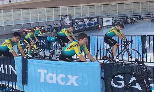 Сборная Казахстана по велоспорту на треке выступит на юниорском чемпионате мира