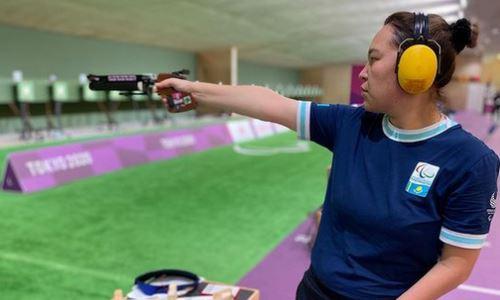 Казахстанка выступила в квалификации соревнований по пулевой стрельбе на Паралимпиаде-2020