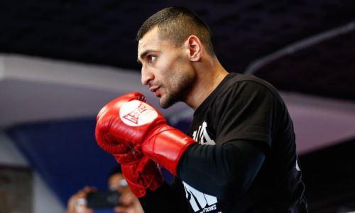Потенциальный соперник Данияра Елеусинова узнал дату защиты титула и имя соперника