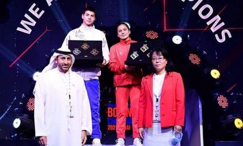 Казахстанец получил приз самого техничного боксера молодежного чемпионата Азии