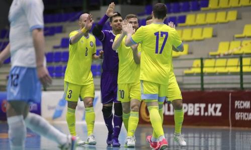 Сборная Казахстана отправилась в Москву на матчи перед ЧМ-2021