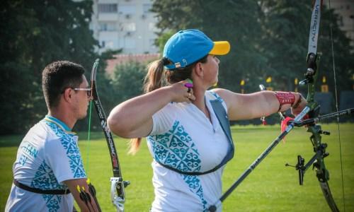Десять наград. Команда Казахстана по стрельбе из лука успешно выступила на Кубке Аджарии
