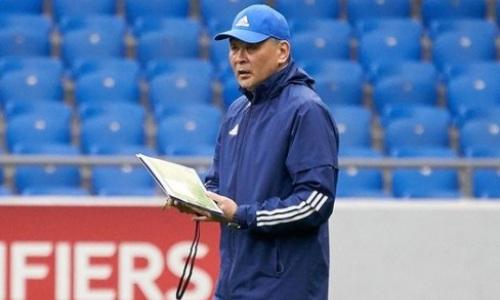 Байсуфинов вернулся в сборную Казахстана перед матчем с Украиной