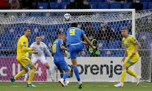 Видеообзор матча, или Как Казахстан героически вырвал ничью у Украины на 96-й минуте