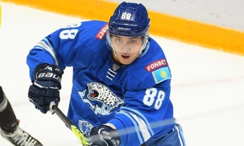 «Ощутил это впервые». 19-летний нападающий «Барыса» рассказал о дебюте в КХЛ и выводах после поражения «Салавату Юлаеву»