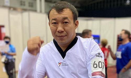 Казахстанский тхэквондист одержал первую победу на Паралимпиаде-2020