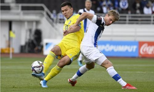 Сборная Казахстана достойно проиграла Финляндии в матче отбора ЧМ-2022