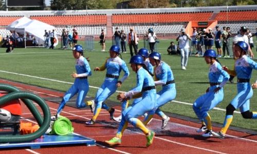 Сборная Казахстана стала чемпионом мира в боевом развертывании