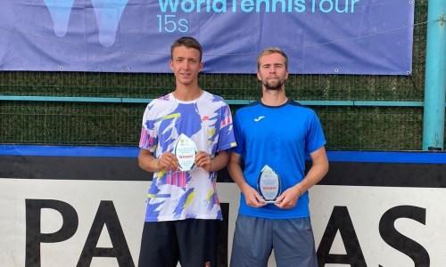 Казахстанский теннисист завоевал свой 12-й титул в карьере в парном разряде