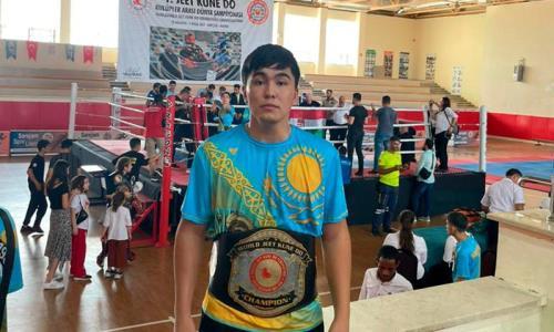 Казахстанец стал чемпионом мира по боевому Джит Кун До