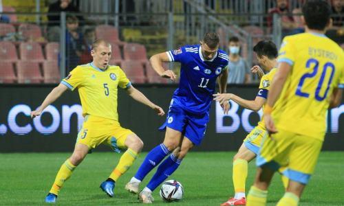 Украинское СМИ спрогнозировало результаты и итоговое место сборной Казахстана в группе отбора на ЧМ-2022