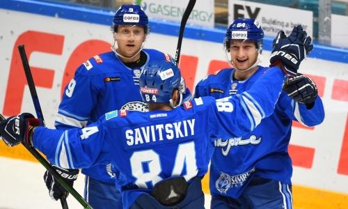 «Барыс» с трудом одержал первую победу в сезоне КХЛ