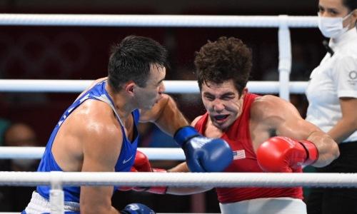 «Вечный свидетель, но не жених». Драматичный бой Камшыбека Кункабаева назван одним из лучших на Олимпиаде-2020