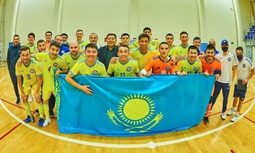 Представлена окончательная заявка сборной Казахстана на чемпионат мира-2021