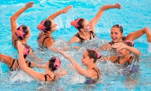 Сборная Казахстана по артистическому плаванию проводит сбор в Алматы