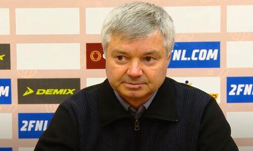 «Все было закономерно». Наставник ФК «Красава» объяснил поражение «Кайрату-Москва» в чемпионате России