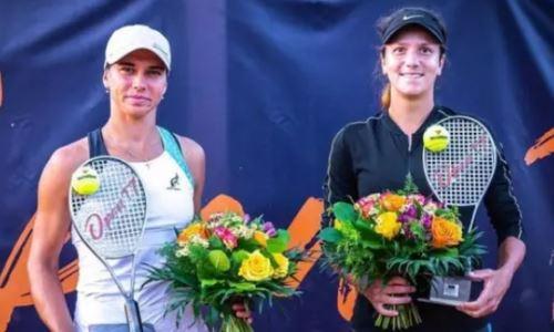 Казахстанская теннисистка завоевала седьмой титул в сезоне