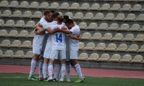 «Окжетпес» не без труда переиграл фарм-клуб «Кызыл-Жара СК» в матче Первой лиги