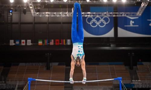 Казахстанский гимнаст вышел в два финала на этапе Кубка мира в Турции