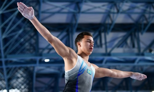 Казахстанец взял «серебро» на этапе Кубка мира по спортивной гимнастике