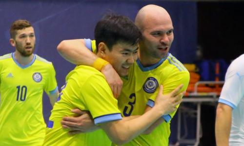 Сборная Казахстана тотальным уничтожением стартовала на чемпионате мира-2021 по футзалу. Видео