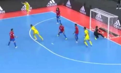 Видеообзор матча ЧМ-2021 Казахстан — Коста-Рика 6:1
