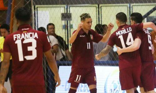 Сборная Венесуэлы вырвала победу у Литвы в группе Казахстана на ЧМ-2021 по футзалу