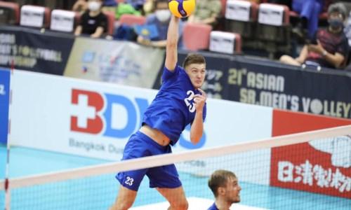 Сборная Казахстана уступила в первом матче чемпионата Азии