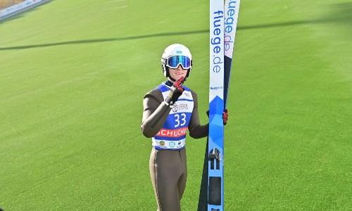 Казахстанские лыжники выступили на этапе летнего Гран-при по прыжкам с трамплина в России