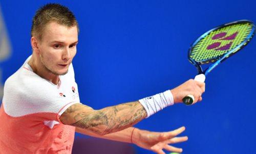 Казахстанский теннисист установил личный рекорд в рейтинге ATP