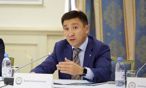 Ерлан Кожагапанов освобожден от должности вице-министра культуры и спорта