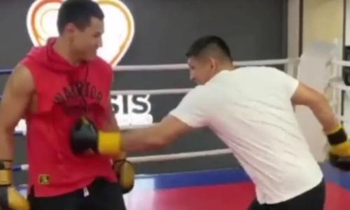 Жанкош Тураров и Куат Хамитов устроили битву в ринге и выявили победителя. Видео