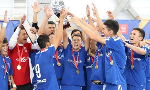 Новообразованный казахстанский клуб выиграл турнир в Кыргызстане. Фото
