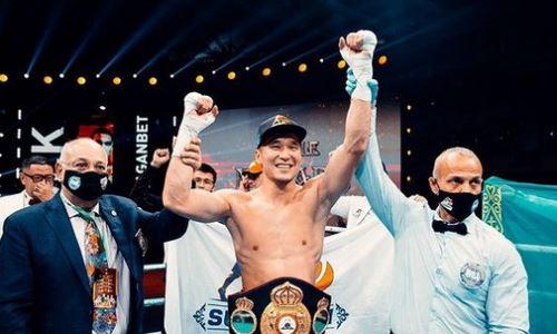 «Не давал передышки и уничтожил». WBA отметила превосходство казахстанского боксера