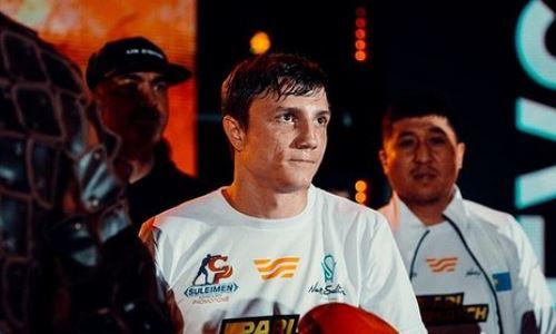 «Это еще не конец». Казахстанский боксер сделал заявление после завоевания титула WBA