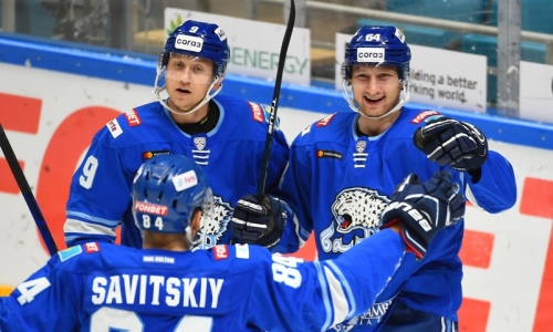 Шайба форварда «Барыса» попала в ТОП-10 голов второй недели КХЛ. Видео
