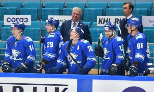 Итог первого выездного матча «Барыса» знают в России