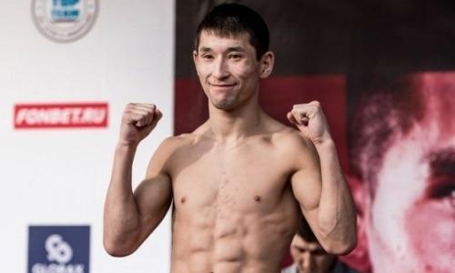 Казахстанский боец выступит на турнире в Москве памяти отца Хабиба Нурмагомедова