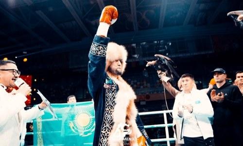 Айдос Ербосынулы поднялся в мировом рейтинге после самого важного боя в карьере