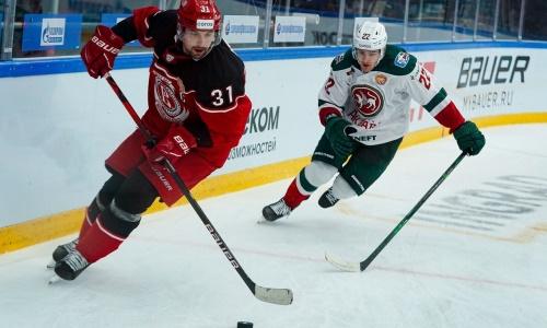 Нападающий сборной Казахстана выбыл из-за травмы в КХЛ